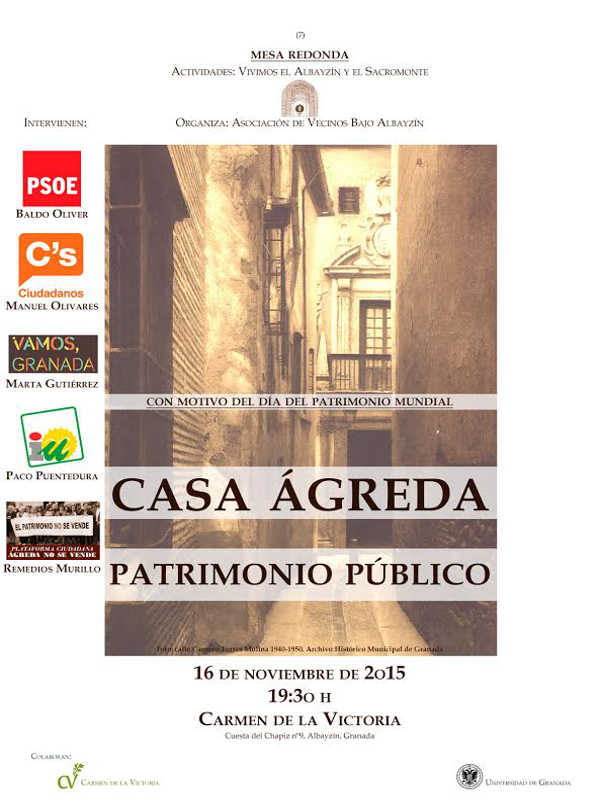 Debate Casa Agreda 2015