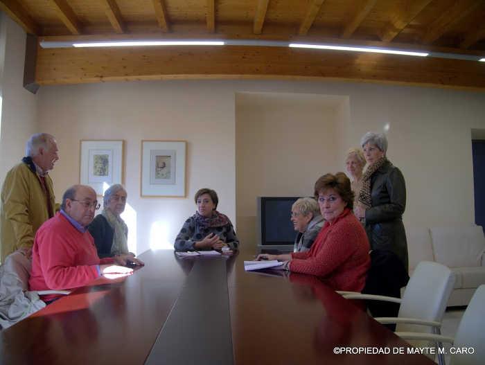 Plataforma Casa Agreda con Delegada Gobierno
