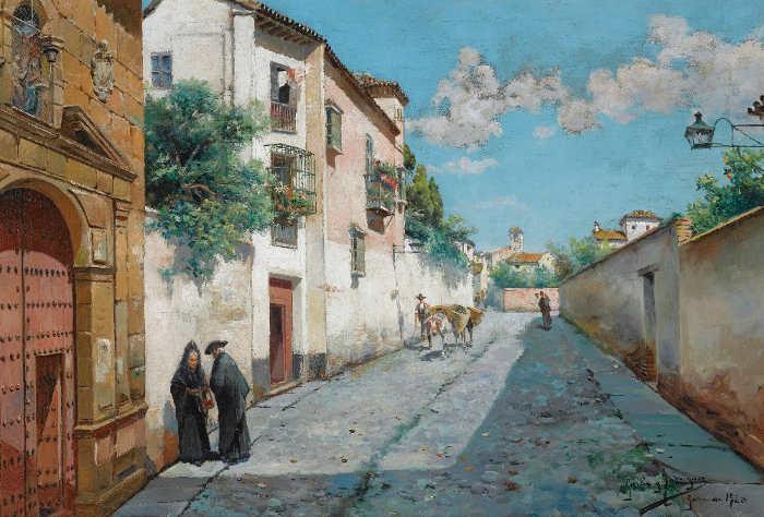 Santa Isabel la Real de Manuel Garcia Rodriguez  1920