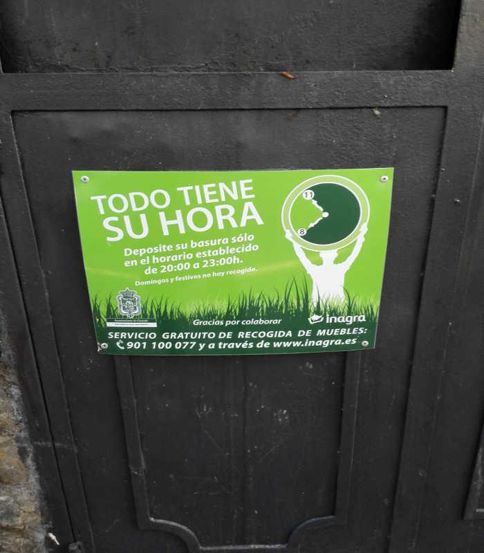 cartel basura Placeta Aljibe Trillo 20151107