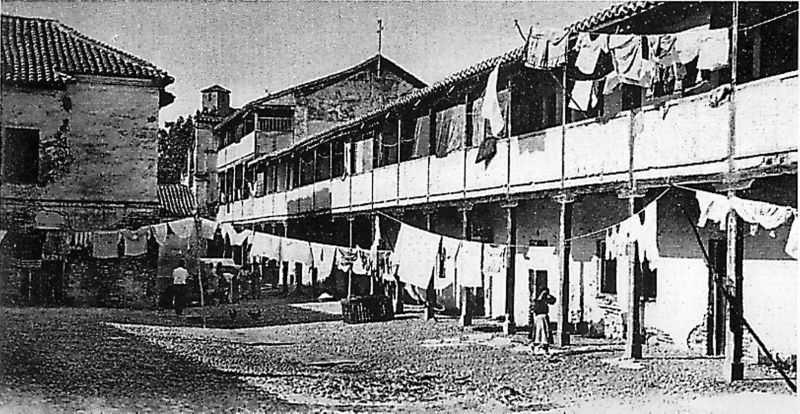 / Vista de la conocida como Casa de la Lona. Archivo de IDEAL