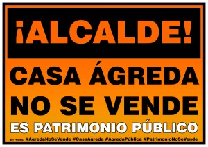 Cartel AGREDA-PUBLICA