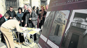 firmas contra cesion Agreda