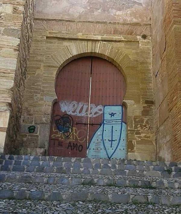pintadas puerta Monaita ID 2015