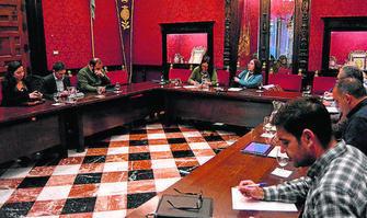reunion comision Obervatorio movilidad 2015