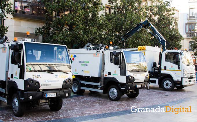 Inagra vehiculos recogida basura Albayzin 2016