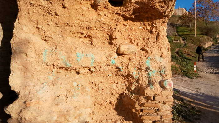 Pintadas muralla cerro san Miguel 20160109 c