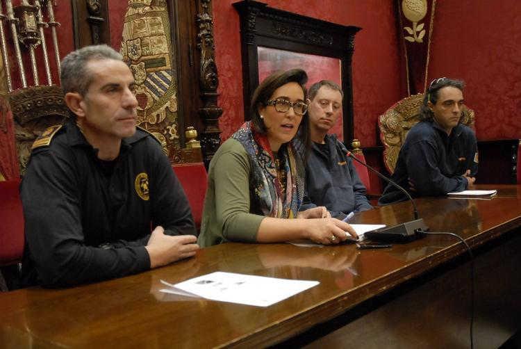 La concejala María Francés.