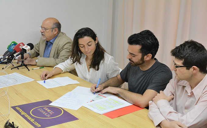 Foto de archivo de la portavoz de Vamos Granada en el ayuntamiento de Granada
