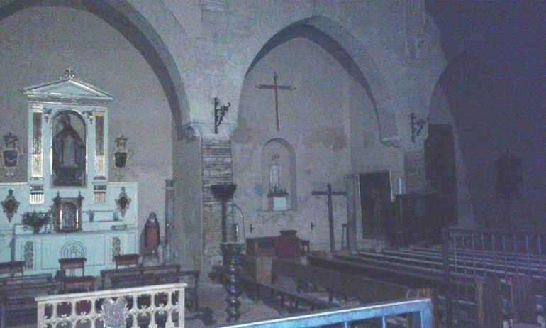Aspecto actual del interior de la iglesia de San Nicolás / Amigos de San Nicolás
