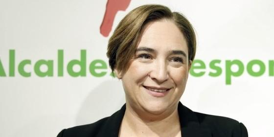 Ada Colau alcaldesa Barcelona 2016