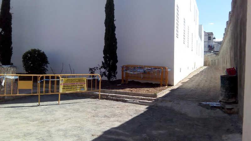 Obras placeta callejon del Gallo 20160310  b