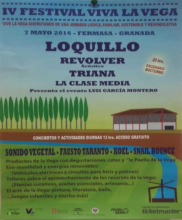 Cartel Festival de La Vega