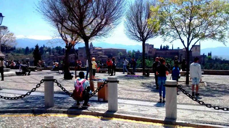 El mirador de San Nicolás es uno de los escenarios más fotografiados del mundo.  M. A. ORTEGA LUCAS