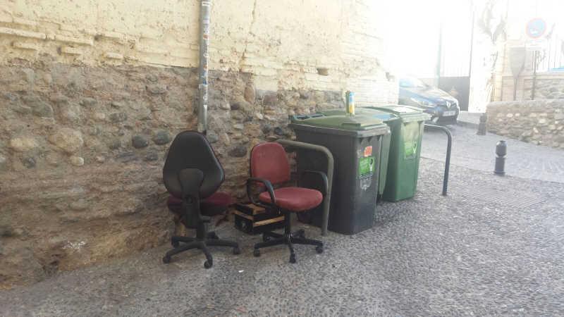 mobiliario basura Carnero 20160402