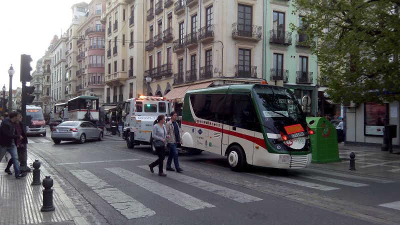 tren turistico averiado Plaza Nueva 20160429