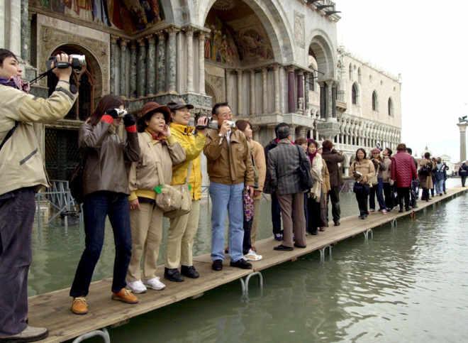 turistas Venecia 2016