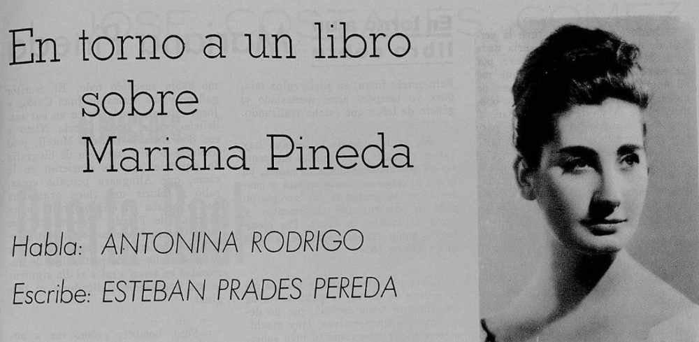 Antonia Rodrigo y Mariana Pineda 1965