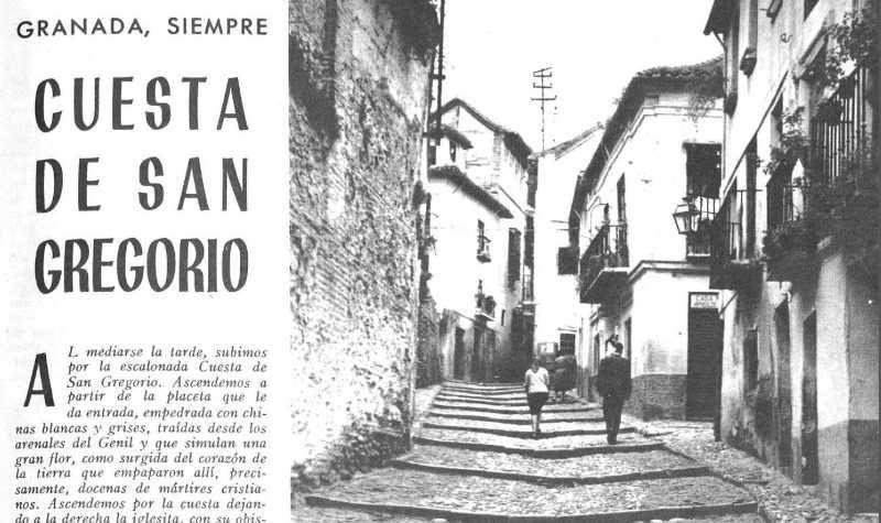 Cuesta de San Gregorio 1963