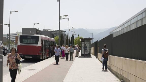 Bus en hospital Campus 2016
