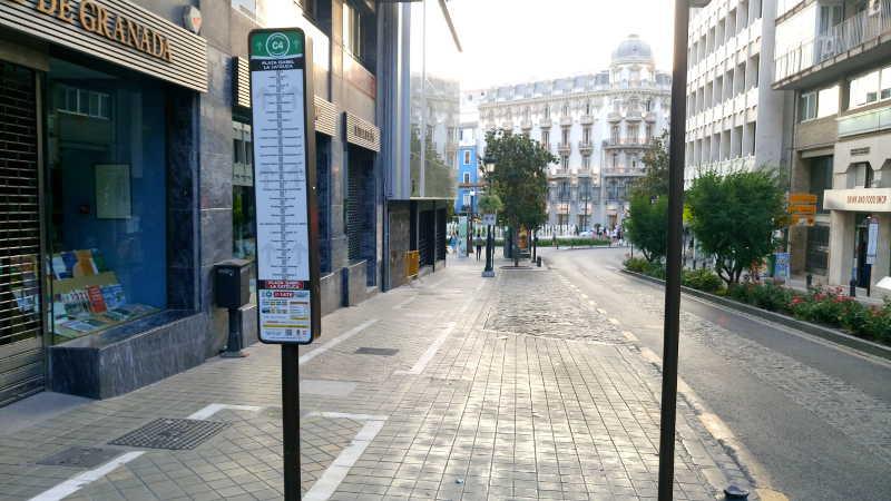 Parada bus c3 Pavaneras 2016 a