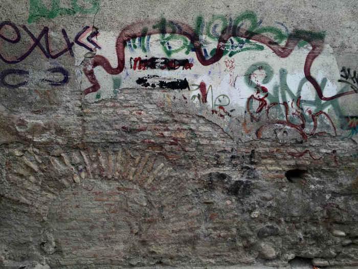 Pintadas callejon Ladron del Agua Dar al-Horra 20160731 JFI 2