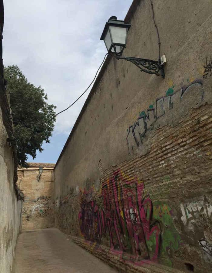 Pintadas callejon Ladron del Agua Dar al-Horra 20160731 JFI 3