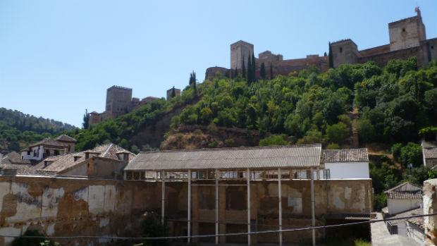 El Maristán, emblema del abandono del Albaicín por la Junta durante décadas