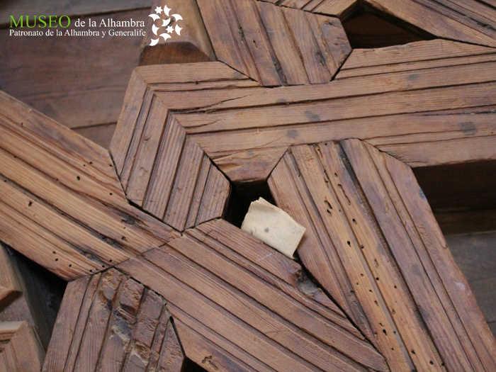 carta artesonado san gil museo Alhambra 2016